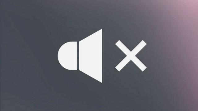 a mute button.